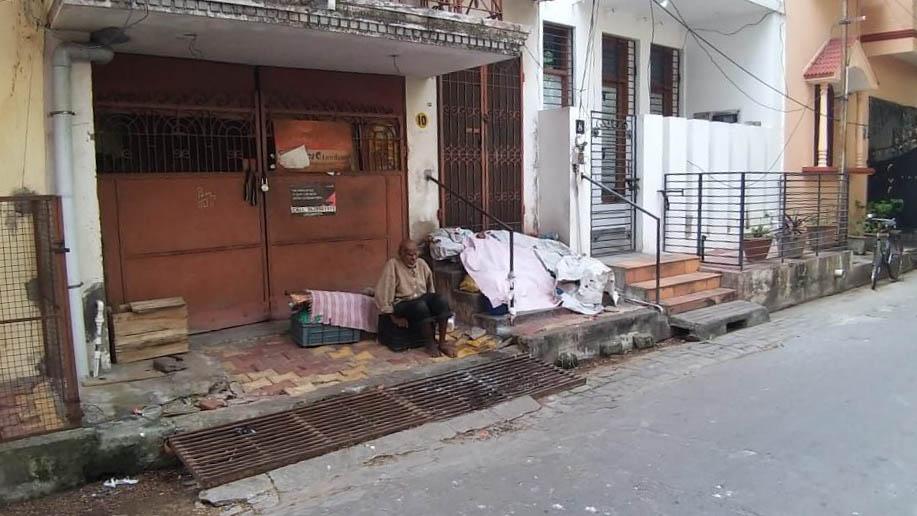 A Pondy beaucoup de personnes vivent dans la rue…